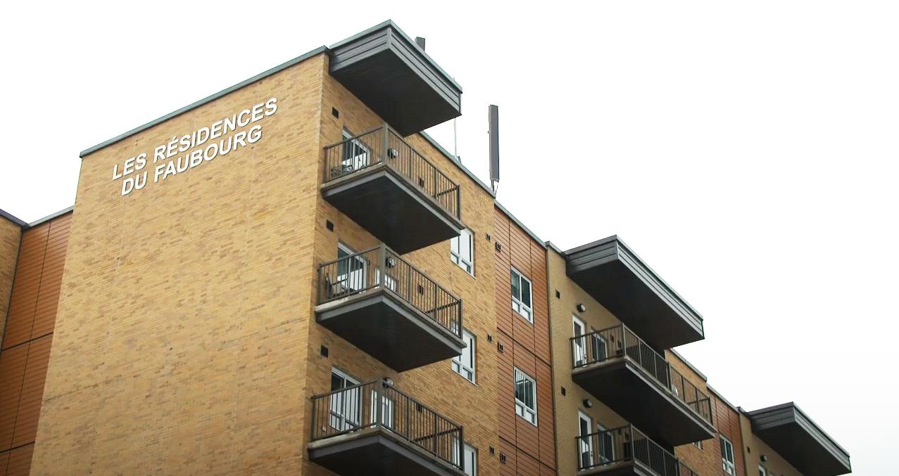 Coop en milieu urbain – Les résidences du Faubourg